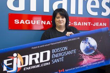 La cofondatrice de Fjord Énergie Nathalie Gagnon est surprise de la réponse des consommateurs. (Photo : Jonathan Thibeault)