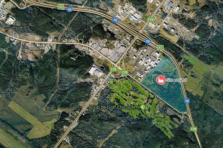 Plusieurs terrains industriels seront ouverts grâce à ce développement. Il n'a pas été possible de savoir si Promotion Saguenay a approché des entreprises pour s'y installer. (Plan courtoisie)