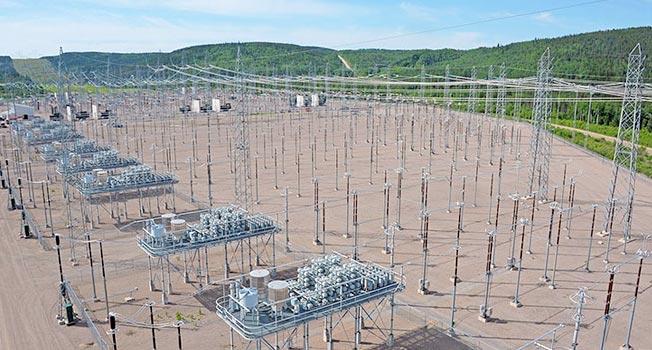 Les travaux devraient débuter au cours du mois de mai à la station Chamouchouane (Photo : Hydro Québec)