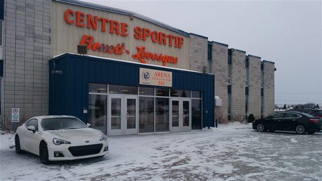 Le Centre sportif Benoît Lévesque, subira une importante cure de rajeunissement. (Photo courtoisie Ville de Roberval)