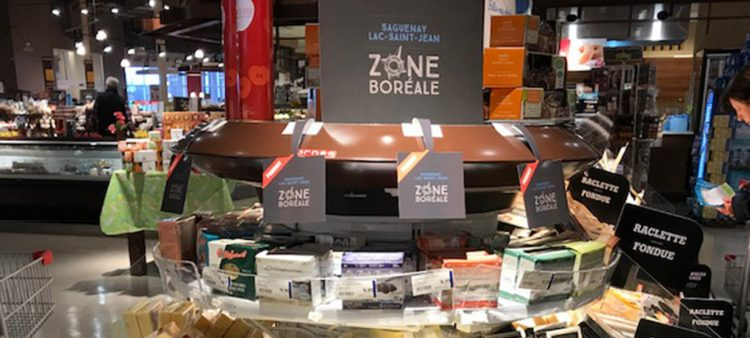 Les commerçants ayant souscrit au regroupement Marchand/Zone Boréale devront faire l'acquisition d'un volume important de denrées ou d'en faire la promotion de quelconques façons. (Photo : courtoisie)