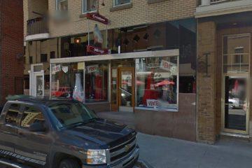 Le 384 rue Racine Est a été vendu à l'entreprise Maya et Incas qui effectue un retour sur l'artère principale de l'arrondissement de Chicoutimi (Photo : Google street view)