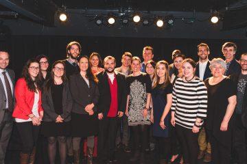 Les lauréats qui représenteront le Saguenay-Lac-Saint-Jean au gala du 14 mai prochain. (Photo : courtoisie)