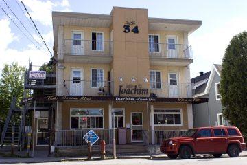 BV : S'il ne trouve pas d'acheteur, Chez Joachim risque de fermer et l'endroit sera converti en logements. Un courtier immobilier est sur le dossier pour parvenir à vendre le fonds de commerce.  (Photo : Jonathan Thibeault)