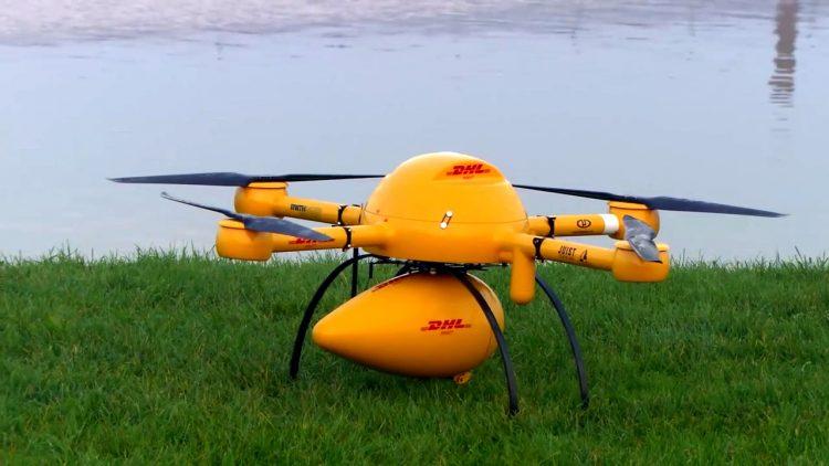 Microdrones a déjà effectué des vols d'essai au-dessus de la mer du Nord. Ils ont eux-aussi été probants (Photo: Courtoisie/imprime écran Youtube)