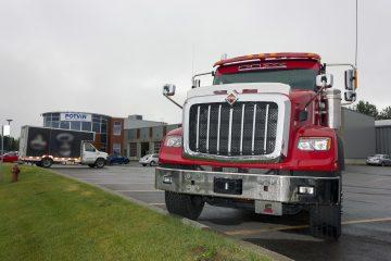 Des rénovations ont été réalisées dans les derniers mois afin d'ouvrir le nouveau centre du camion. (Photo : Jonathan Thibeault)