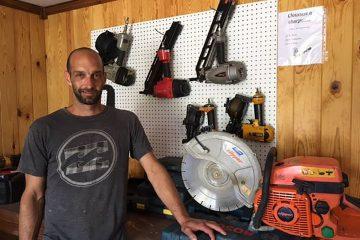 Dominic Joncas prépare l'ouverture de son entreprise depuis avril. Son commerce a officiellement ouvert ses portes la semaine dernière. (Photo : Développement Saint-Honoré)