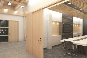 Des espaces communs (salles de conférence, douche, cuisine) seront à la disposition des utilisateurs. (Image : Les architectes associés)
