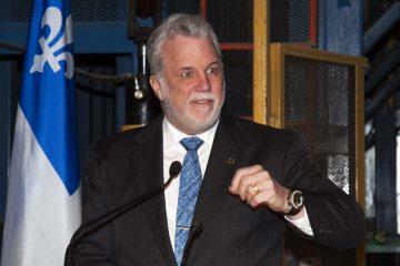 Philippe Couillard discutera du Plan économique de son gouvernement et présentera les perspectives d'avenir. (Photo archive Guy Bouchard)
