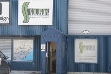 L'entreprise jonquiéroise vient de faire l'acquisition d'Événement Décor. (Photo : Guy Bouchard)