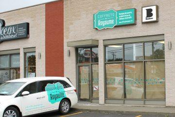 Le tout premier commerce de l'entreprise sera situé au 744, avenue du Pont Sud à Alma. (Photo: courtoisie)