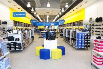 L'entreprise de Québec a récemment entrepris une modernisation de sa marque, ce qui implique des rénovations progressives pour l'ensemble de sa bannière. Sur la photo, il s'agit du magasin phare du Méga Centre Lebourgneuf qui a récemment bénéficié d'une cure de jeunesse. (Photo : courtoisie)