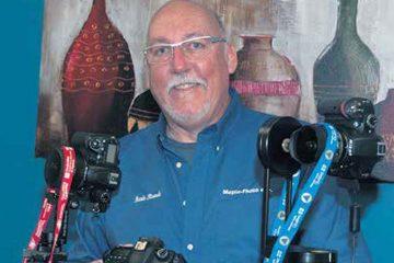 Mario Plourde a fondé Maplo-Photo en juin 2013 pour satisfaire sa passion de la photographie et des affaires. Il a investi près de 20 000 $ pour l'équipement sophistiqué qu'il utilise pour réaliser ses mandats. (Photo: Archive)