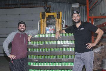 Les associés fondateurs de Trancaisse, François-Neil Lapointe, directeur des opérations et Steven Bellemare, directeur des ventes. (Photo: Guy Bouchard)